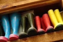 Gummistiefel, Regenstiefel, Regenschuhe