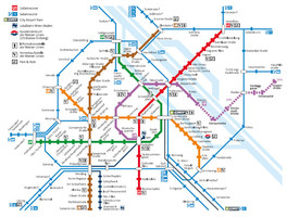 U-Bahn Wien, Schnellbahn, Schnellverbindungen Wien